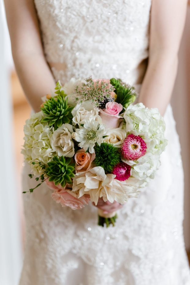 It was love at first sight - this bouquet literally took my breath away - photo by James Cripps