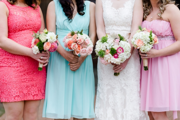 The vibrancy of the bouquets makes my heart soar - photo by James Cripps