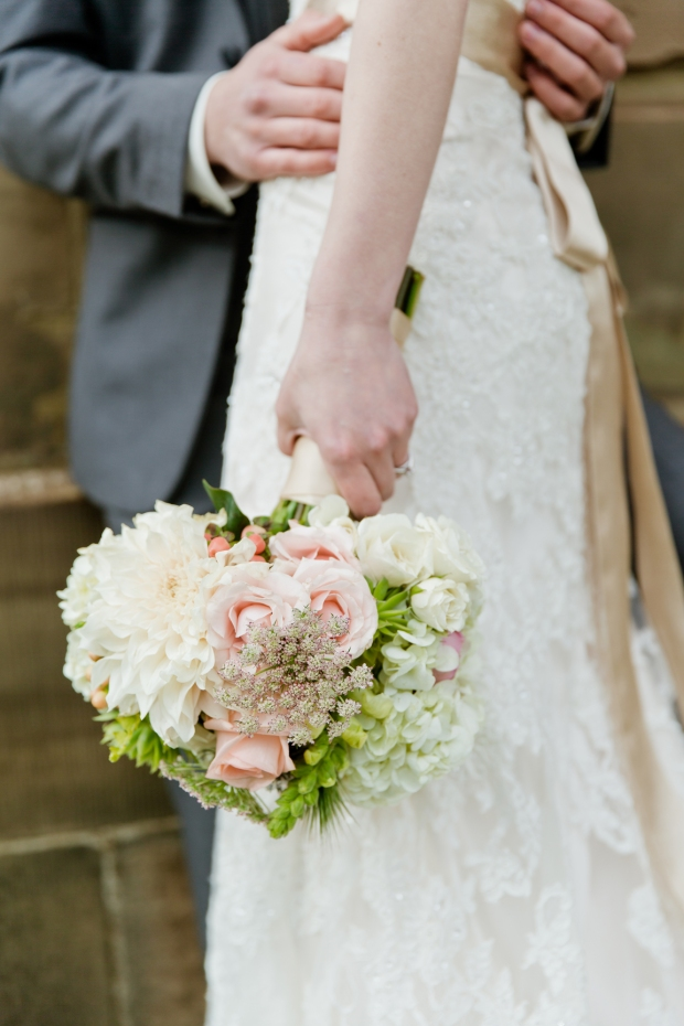 I love the casual bouquet photos - it was impossible to put these down - photo by James Cripps