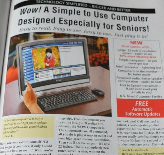 A computer for seniors?