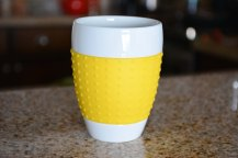 Yellow Bodum Tea Mug