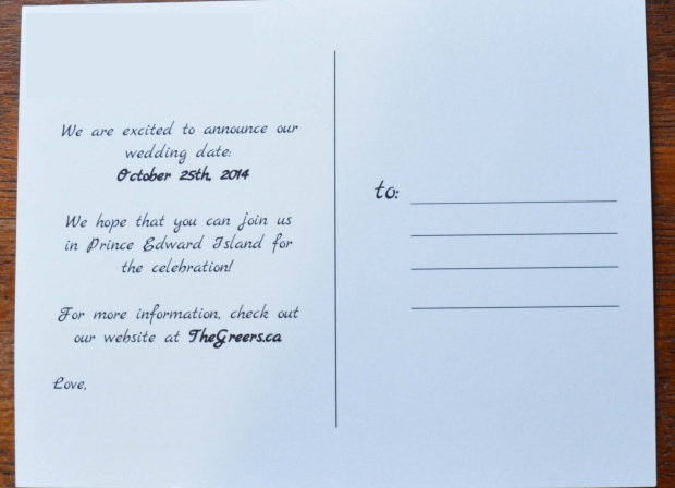 wedding notice