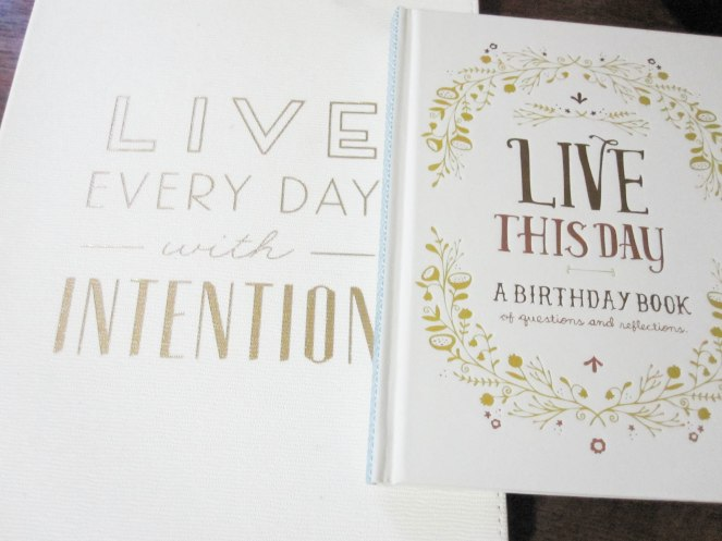 Live this day a birthday journal repeat