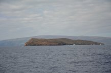 Molokini from the side