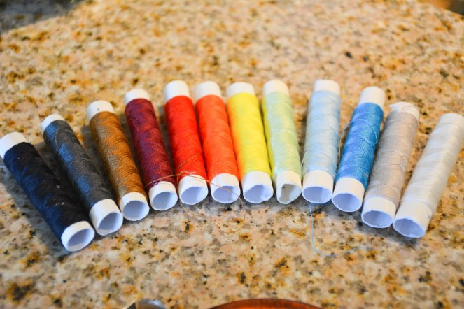 Thread Rainbow DIY Sewing kit